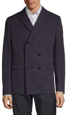 Valentino Double-Breasted Wool Sportcoat