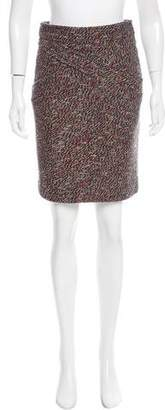 Chanel Tweed Wool-Blend Skirt