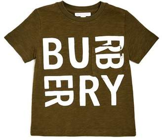 Burberry Boys' Furgus Logo Tee - Little Kid, Big Kid