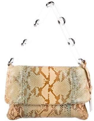 Michael Kors Python Flap Shoulder Bag
