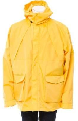 Martine Rose Rainforest Layered Coat w/ Tags