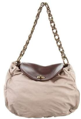 Marni Bicolor Leather Flap Bag