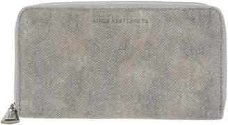 Aimee Kestenberg Pebble Leather Zip Around Wallet