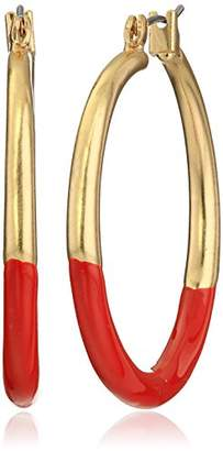 Kenneth Cole New York Hoop Earrings