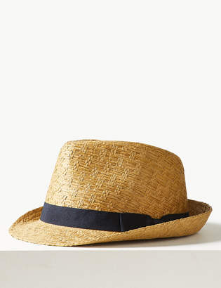 M&S CollectionMarks and Spencer Beach Trilby Hat