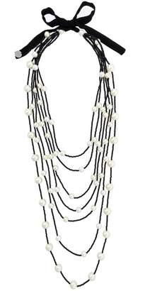 Maria Calderara beaded layered necklace