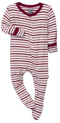 Kickee Pants Animal Stripe Print Bodysuit (Baby, Toddler, & Little Girls)