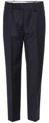 Acne Studios Trea Dot wool cropped trousers