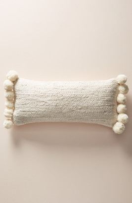 Anthropologie Nayland Pompom Accent Pillow
