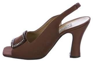 Gianni Versace Vintage Embellished Sandals