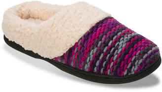Dearfoams Textured Sweater Scuff Slipper - Women's