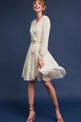 Ranna Gill Atiya Embroidered Tunic Dress $188 thestylecure.com