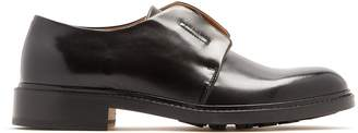 Maison Margiela Elasticated-insert leather derby shoes