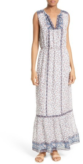 Women's Joie Atisha Mixed Print Maxi Dress