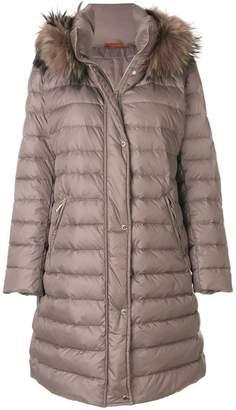 Baldinini fur hooded coat