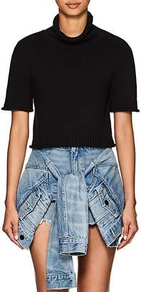 Alexander Wang Women's Cotton Crop Turtleneck Sweater