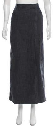 Chanel Midi Wrap Skirt