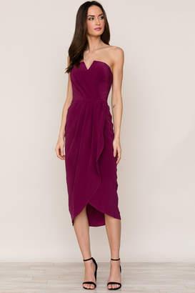Yumi Kim Glamour Night Silk Dress