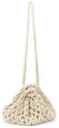 Karakoram Yayamari Knitted Wool-Blend Bucket Bag