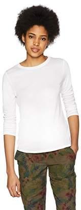 Three Dots Women's Tencel Sleeve Long Tight Shirt