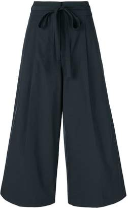 Rochas cropped palazzo trousers