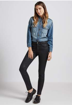Current/Elliott The High Waist Ankle Skinny Jean