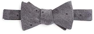 Theory Star Faille Print Self-Tie Bow Tie $85 thestylecure.com