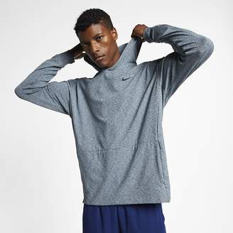 Nike Men's Pullover Long-Sleeve Yoga Training Hoodie Dri-FIT