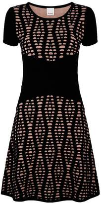 Pinko Stretch Jacquard Dress