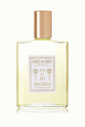 Coqui Rosas Frescas Bath Oil, 100ml - Colorless