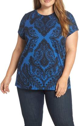 Lucky Brand All Over Print Tee