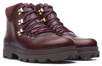 Camper 1980 Lace-Up Leather Bootie