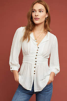 Maeve Isolode Waisted Blouse