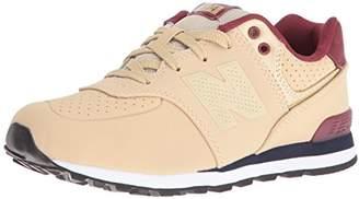 New Balance Boys' KL574 Crib Sneaker