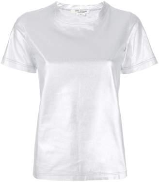 Junya Watanabe metallic short-sleeve T-shirt