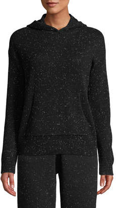Theory Donegal Cashmere Hooded Pullover Sweater