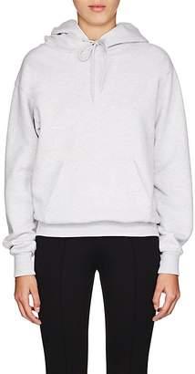 Balenciaga Women's Logo-Back Cotton-Blend Fleece Hoodie