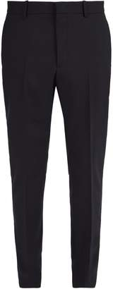 Stella McCartney Straight-leg tailored wool trousers
