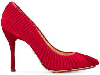 Charlotte Olympia Bacall ribbed pumps
