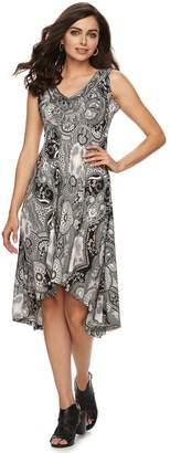 Apt. 9 Women's Printed High-Low Dress