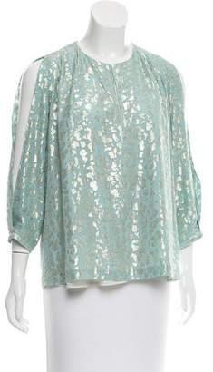Diane von Furstenberg Astor Silk Top
