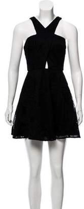 Jay Godfrey Cutout Mini Dress