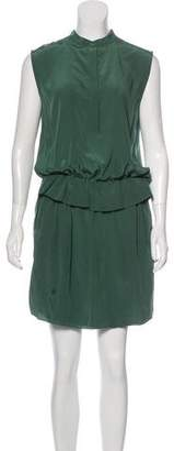 Chloé Sleeveless Ruffled Dress