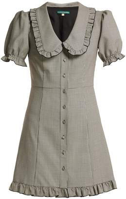 ALEXACHUNG Puritan-collar babydoll dress