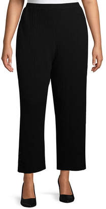 Alfred Dunner Barcelona Bubble Gauze Pant - Plus