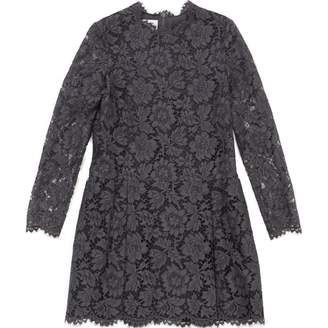 Valentino Grey Cotton Dresses