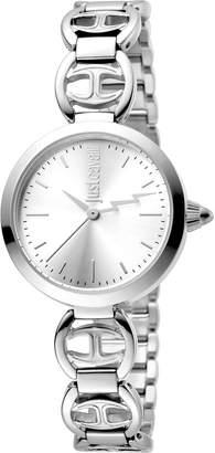 Just Cavalli 28mm Stainless Steel Logo Watch w/ Bracelet