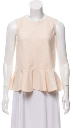 Rebecca Taylor Pleated Sleeveless Top w/ Tags