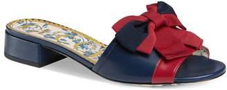 Gucci Sackville Bow Sandal