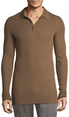 Lanvin Longline Polo Shirt